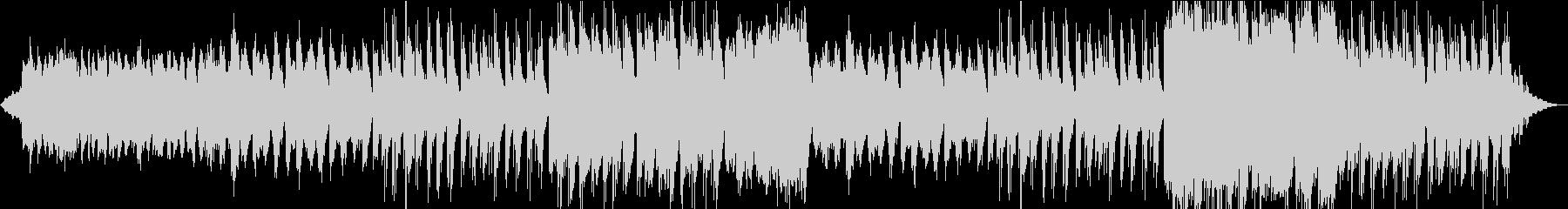 壮大な響きでゆっくりなメロディーの未再生の波形