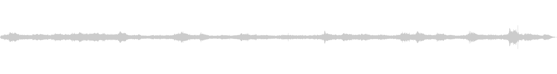 波の音~テトラポット~荒波 遠め【生録】の未再生の波形