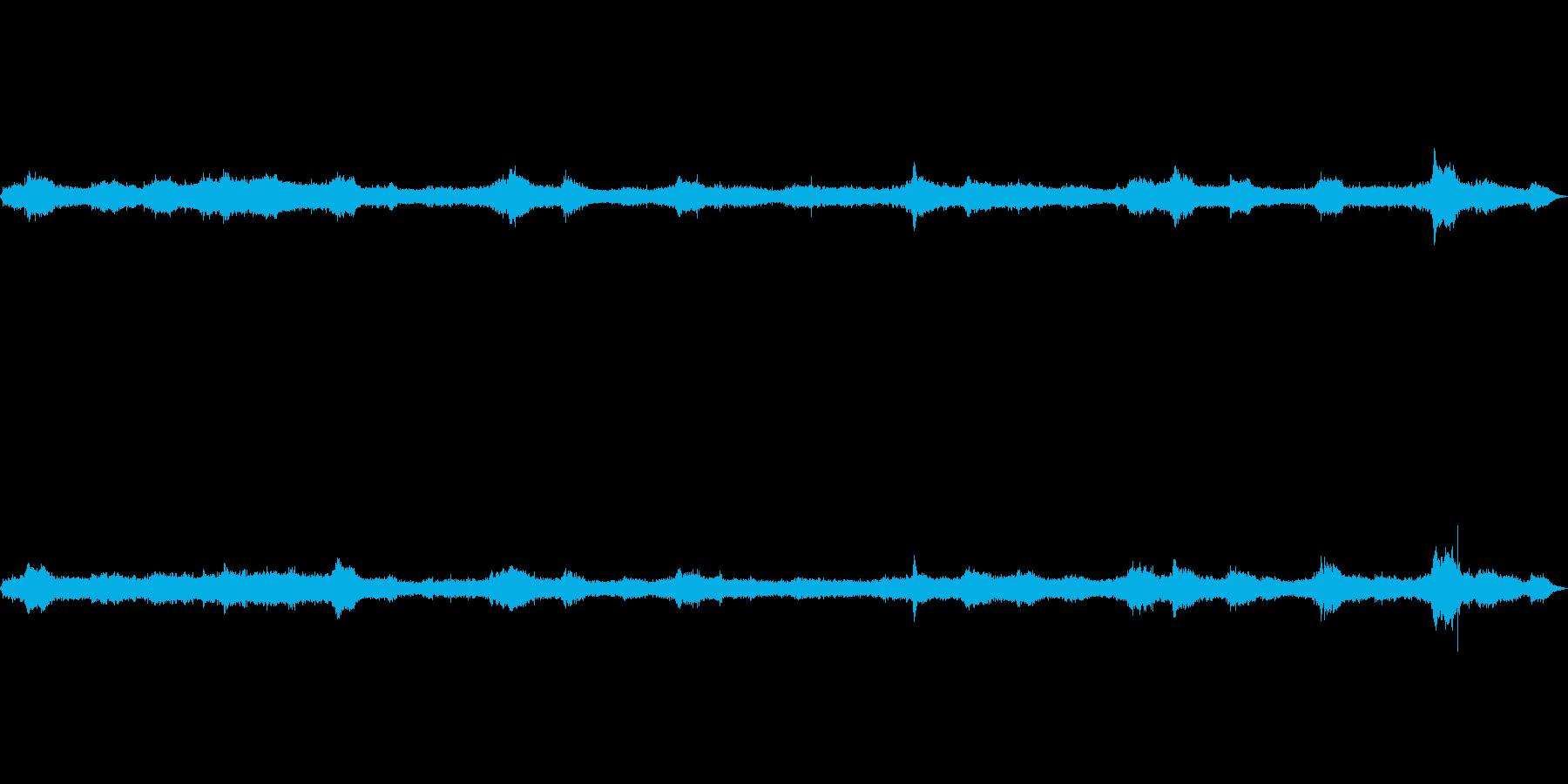 波の音~テトラポット~荒波 遠め【生録】の再生済みの波形