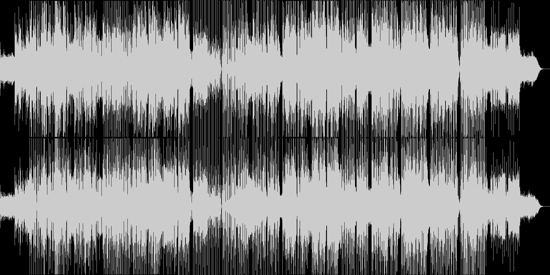 哀愁漂う黄昏のレゲエロック。の未再生の波形