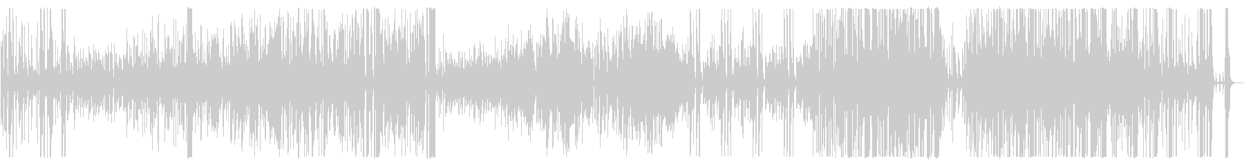 Middle tempo bright big band songs's unreproduced waveform