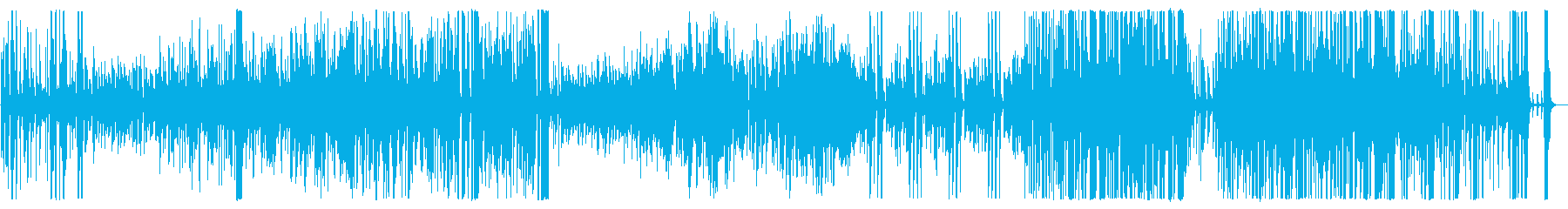 Middle tempo bright big band songs's reproduced waveform