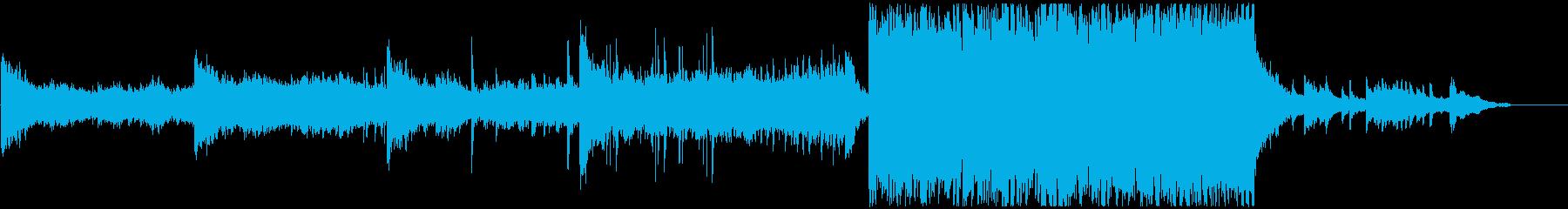 和とEDMの融合の再生済みの波形