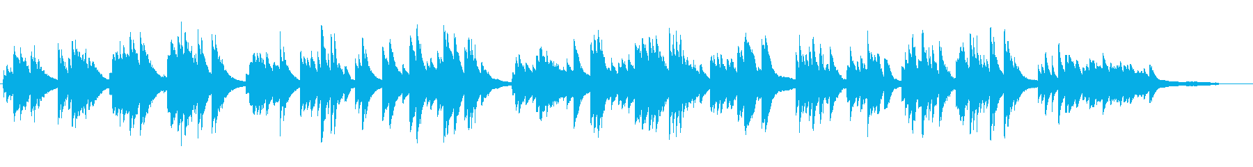 ピアノソロ 温かい 日常的の再生済みの波形