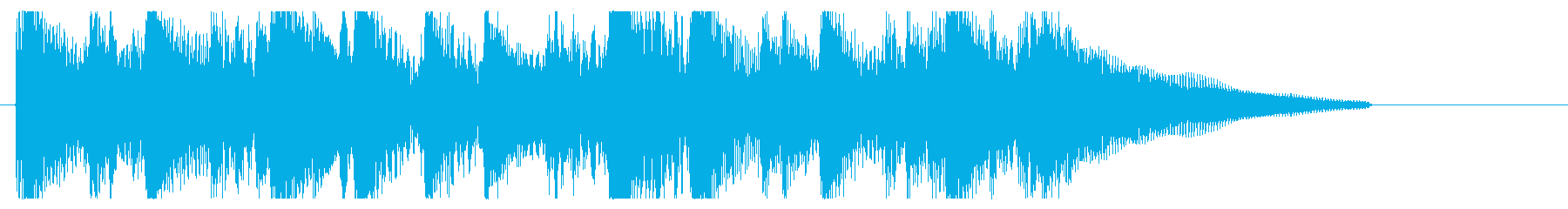 アコースティックギター ジングル 生演奏の再生済みの波形