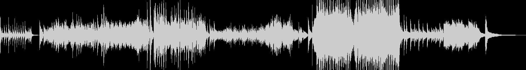 涙の場面をイメージしたピアノバラード Aの未再生の波形