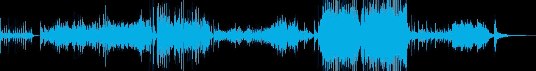 涙の場面をイメージしたピアノバラード Aの再生済みの波形