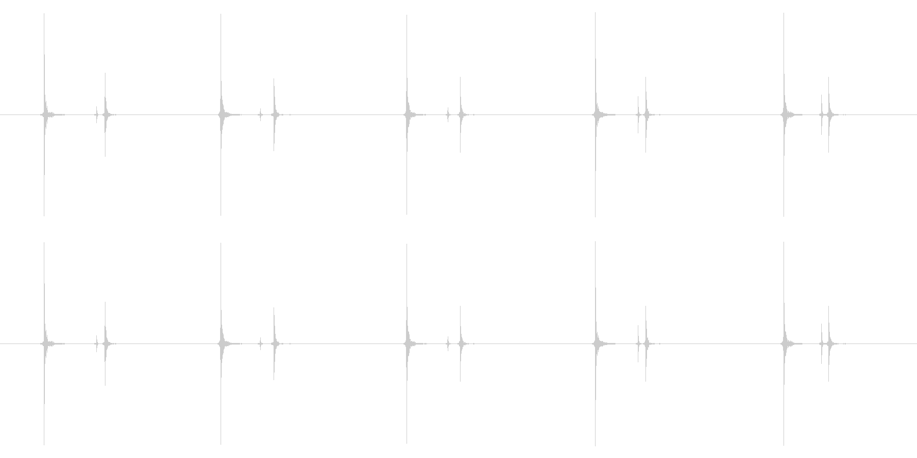 携帯電話 ハードウェア02-08(ボタンの未再生の波形