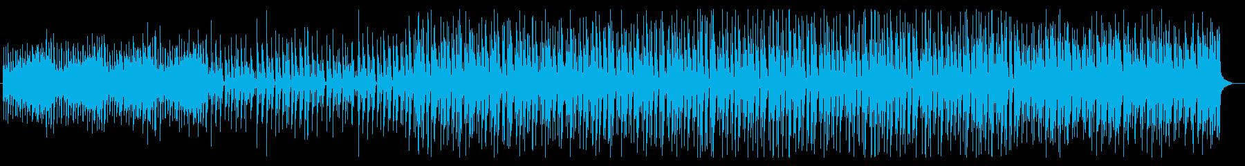 不気味な雰囲気のテクノの再生済みの波形