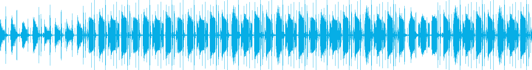 Calm BGM with an adult-like atmosphere's reproduced waveform