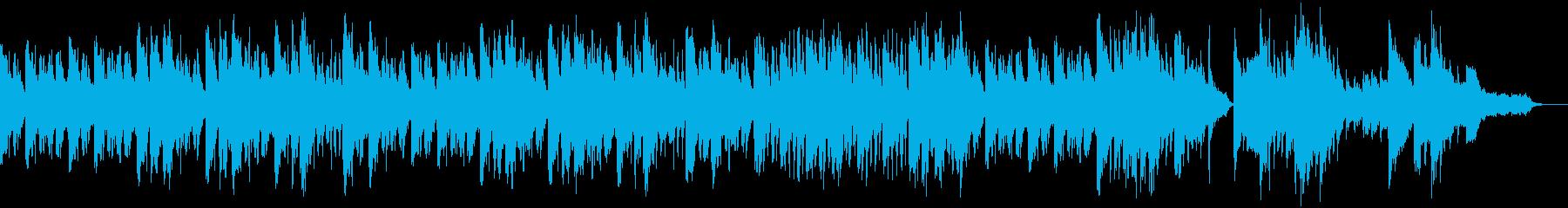 静かでラグジュアリーなクリスマスソングの再生済みの波形