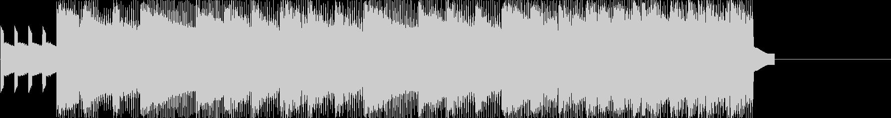 レトロゲームなチップチューンジングル7の未再生の波形