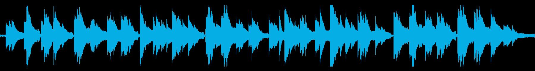 雨とピアノ の再生済みの波形