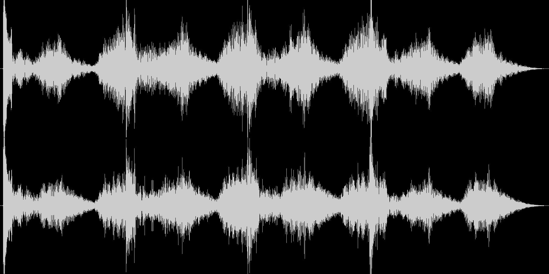 恐怖ホラー系ショートBGM。何かが起き…の未再生の波形