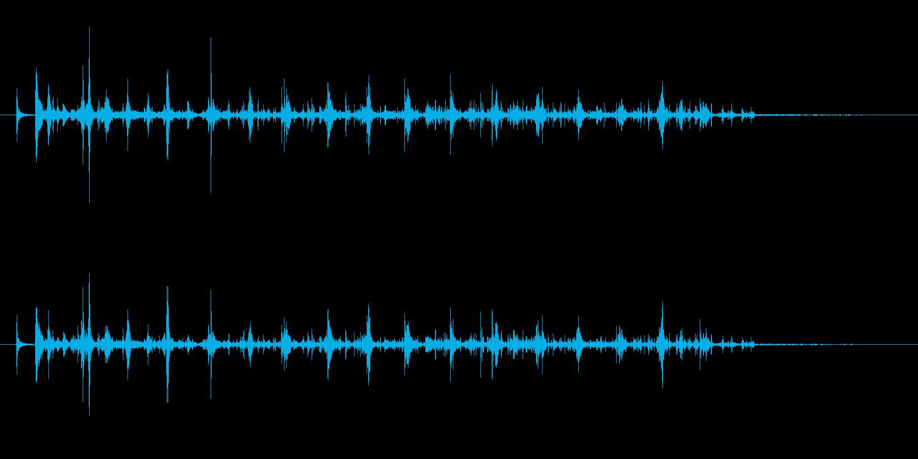 ボトル ウォッカシェイクファースト05の再生済みの波形