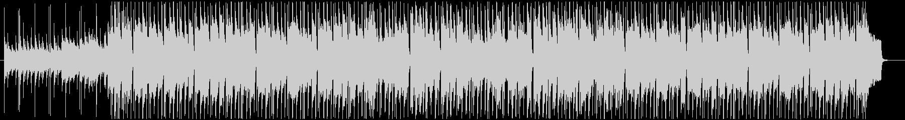 ほのぼのした日常感のあるポップスBGMの未再生の波形