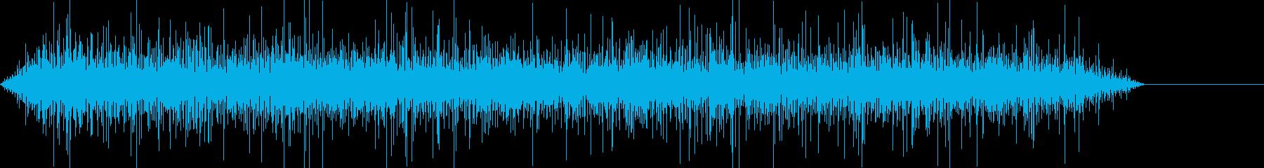 ローエンドモーターハムを使用したオ...の再生済みの波形