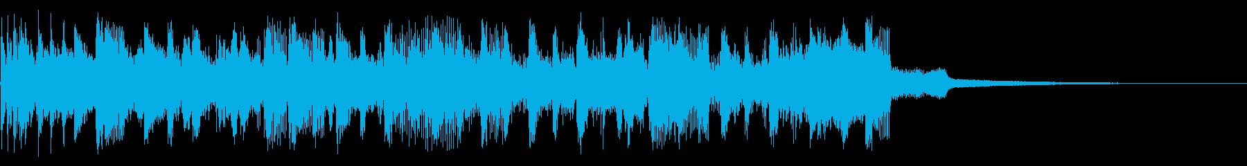 ロールアウトするの再生済みの波形