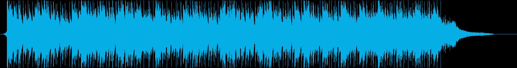 企業VPや映像に 爽やか疾走感_ショートの再生済みの波形