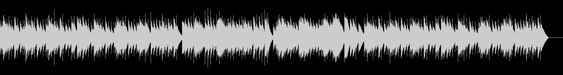 ゴセック ガヴォット(オルゴール)の未再生の波形