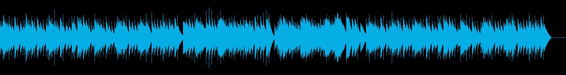 ゴセック ガヴォット(オルゴール)の再生済みの波形