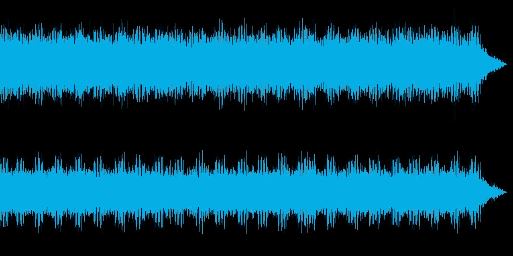 【生録音】夏の虫たちの鳴き声 1 の再生済みの波形