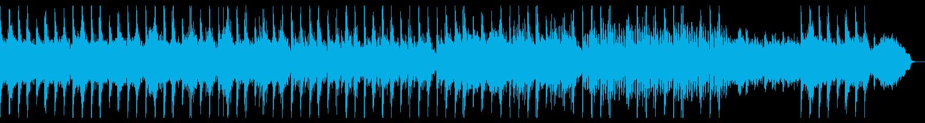 真剣な雰囲気の三味線曲の再生済みの波形