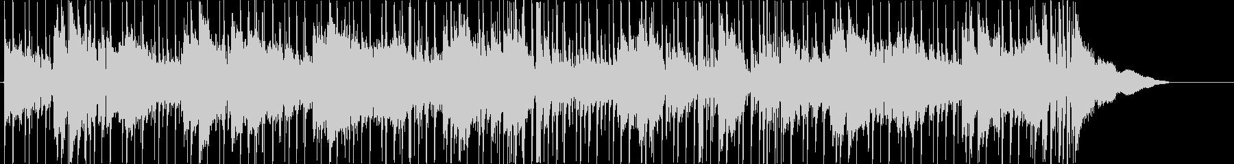 映像向きなダーク曲の未再生の波形