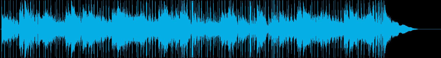 映像向きなダーク曲の再生済みの波形