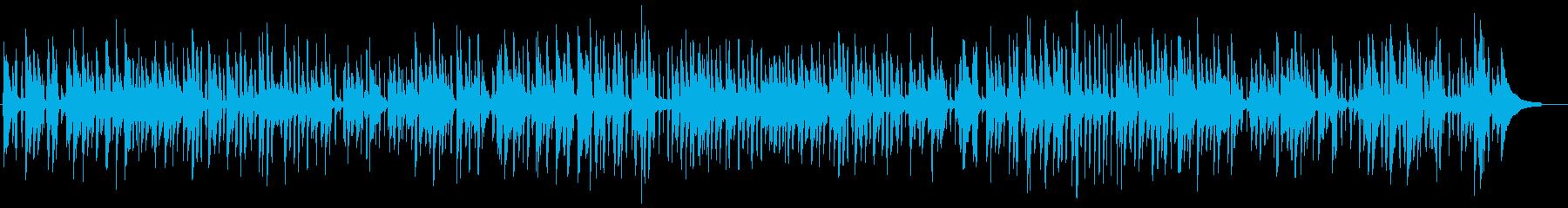 落ち着いたピアノトリオのライブジャズ演奏の再生済みの波形
