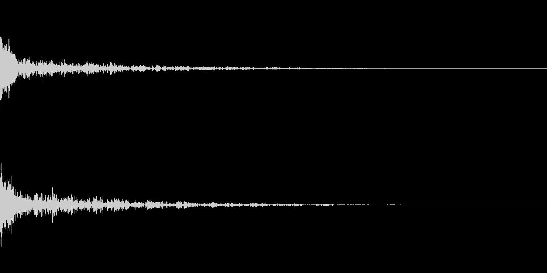 ドーン-42-1(インパクト音)の未再生の波形