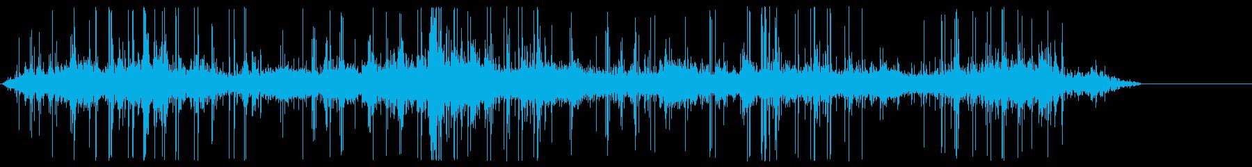 ホッケー;スティック、ハンドリング...の再生済みの波形