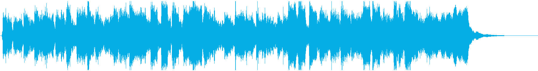 リコーダーへっぽこファンク15秒ジングルの再生済みの波形