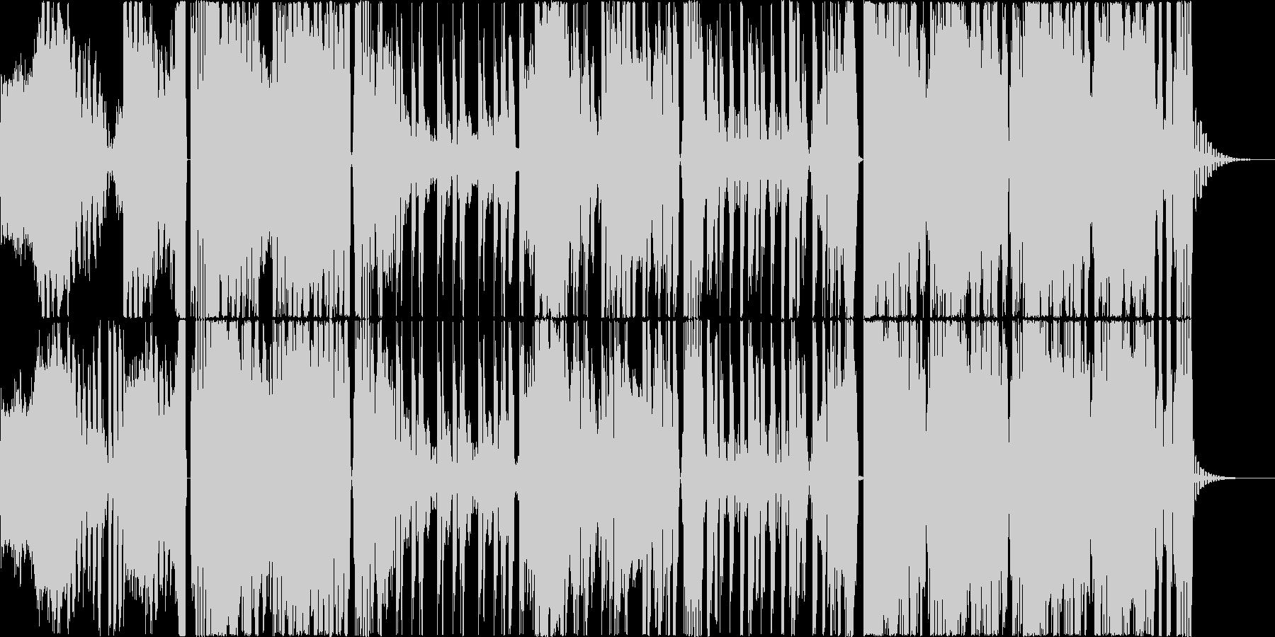 ブチアゲ/HipHop/シンセの未再生の波形