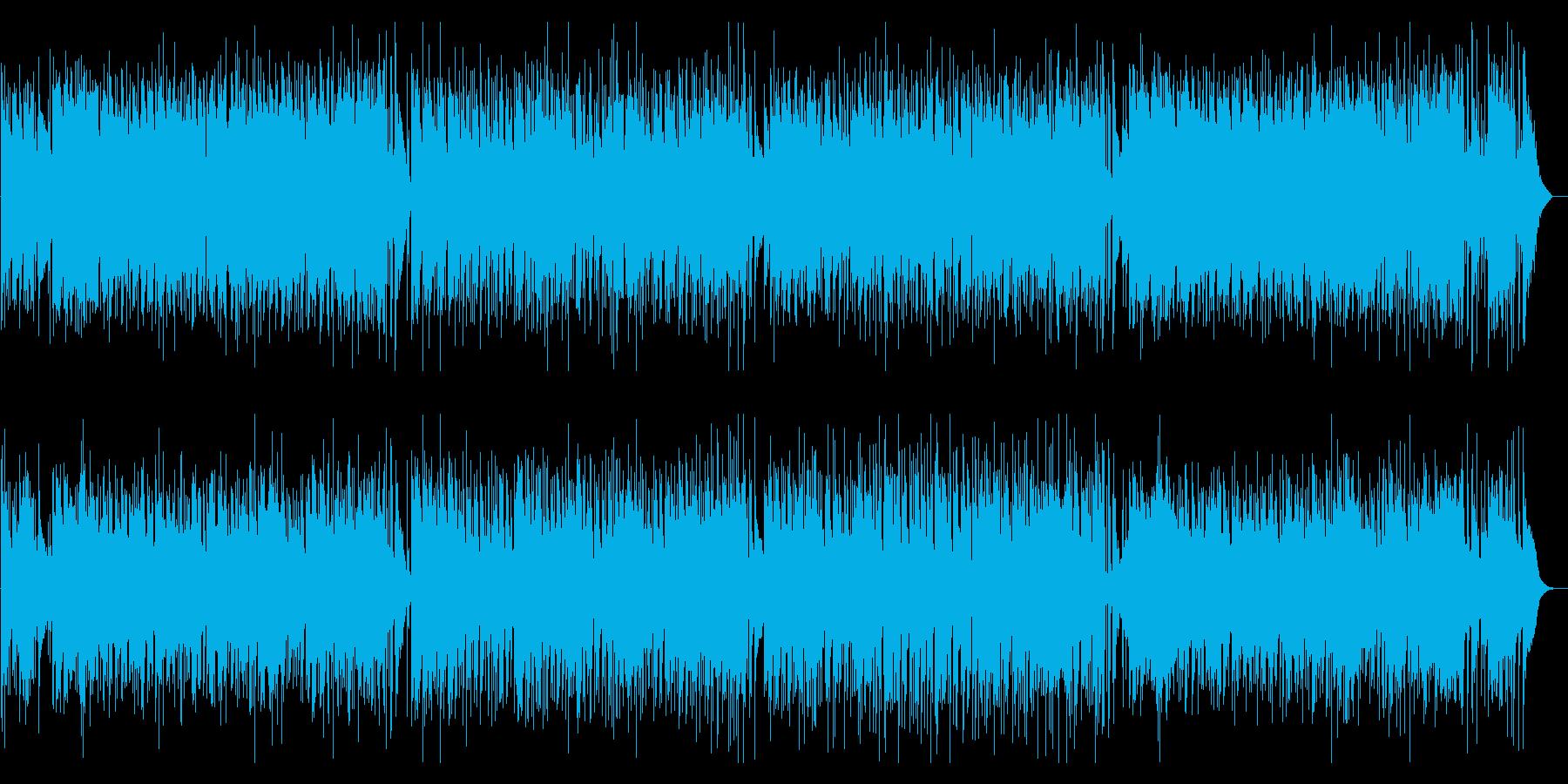 悲しげで気だるくも、疾走感のあるボサノバの再生済みの波形