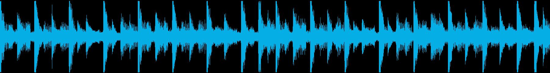 新鮮な合成パルス。柔らかくハイテク...の再生済みの波形