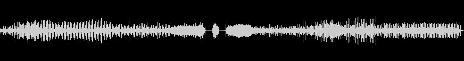 ラジオスキャン4の調整の未再生の波形