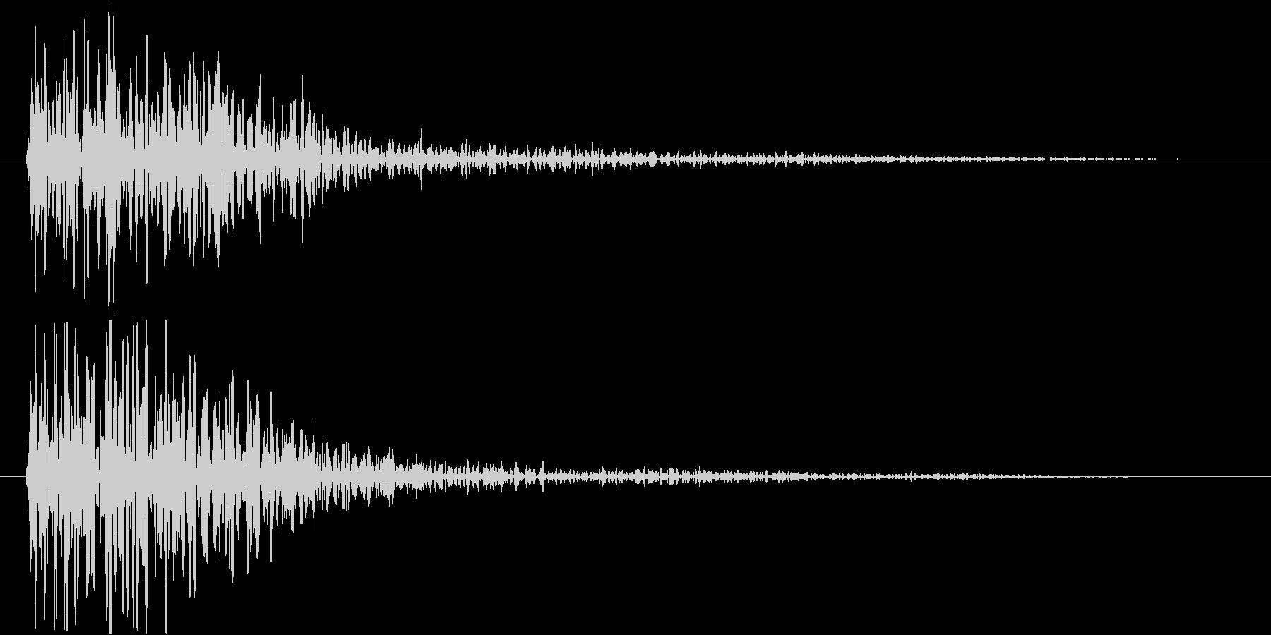ドーン(映画予告・低音・インパクトSE)の未再生の波形
