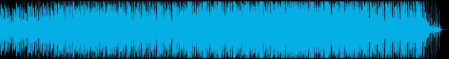 空間系アンビエントテクノの再生済みの波形