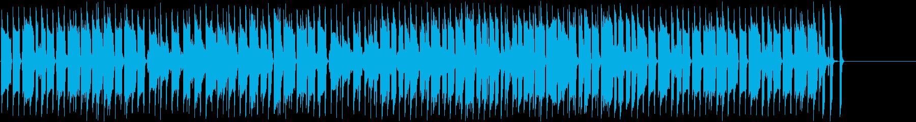 コミカルなほのぼの日常系BGMの再生済みの波形