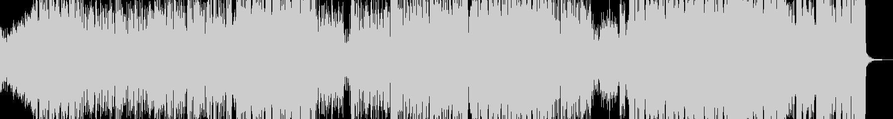 アシッドなダークトラックの未再生の波形