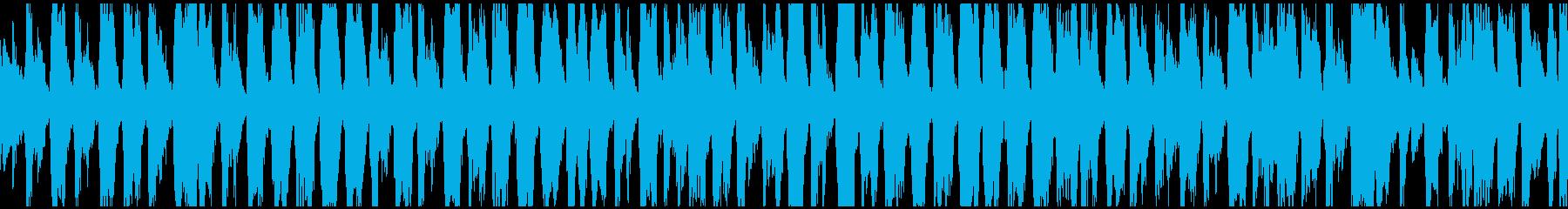 Uptempo、古いスタイルのジプ...の再生済みの波形