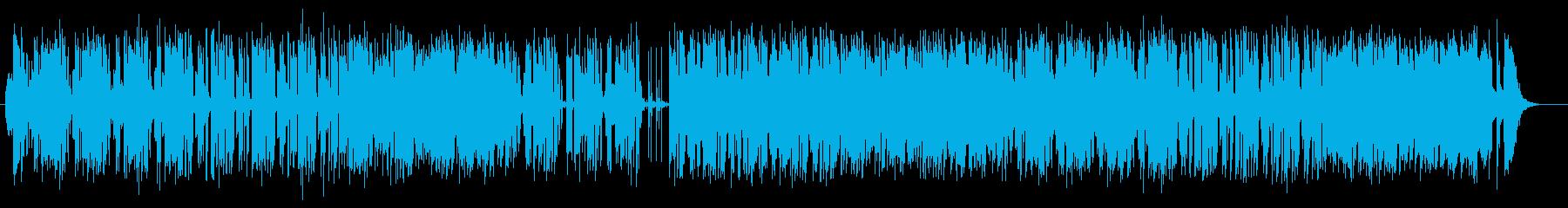 きれいな音色の快適ミュージックの再生済みの波形