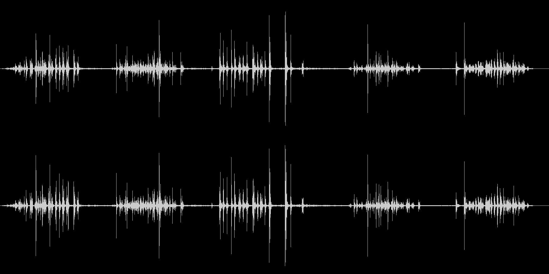 爪やすり:高速ファイリングの未再生の波形