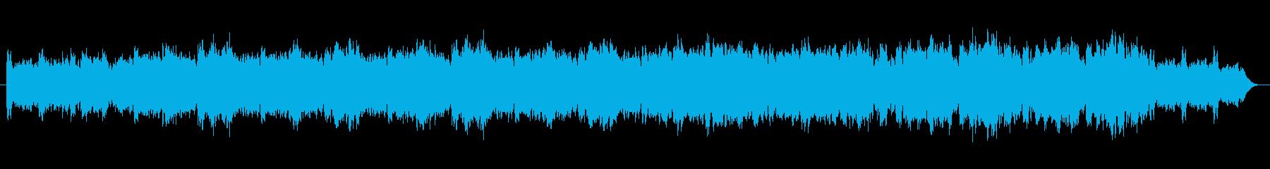 きらきらハープの癒し系オーケストラの再生済みの波形