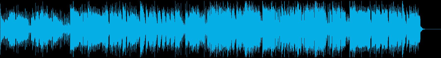 キラキラ音+クラリネットの妖精系BGMの再生済みの波形