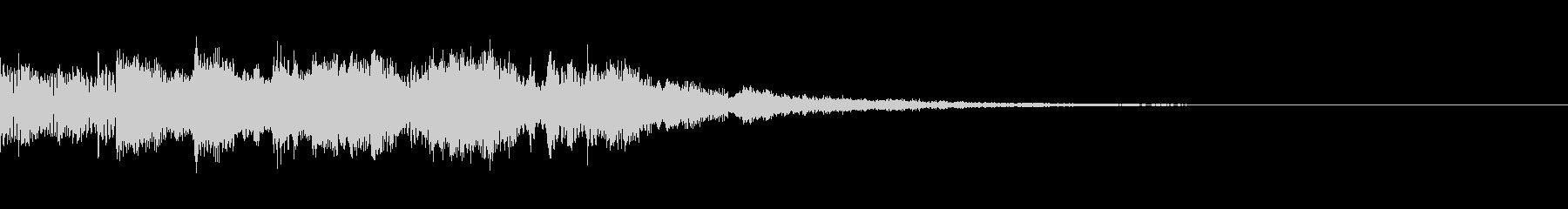 Synth Arpeggio Jingle 1の未再生の波形