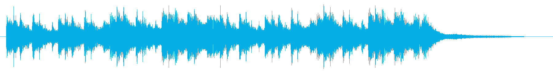 【ジングル】バイオリン・さわやか・神秘的の再生済みの波形