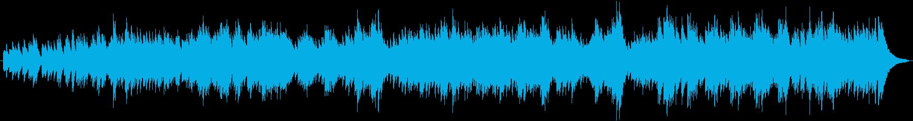 機嫌の良いバッハのフーガの再生済みの波形