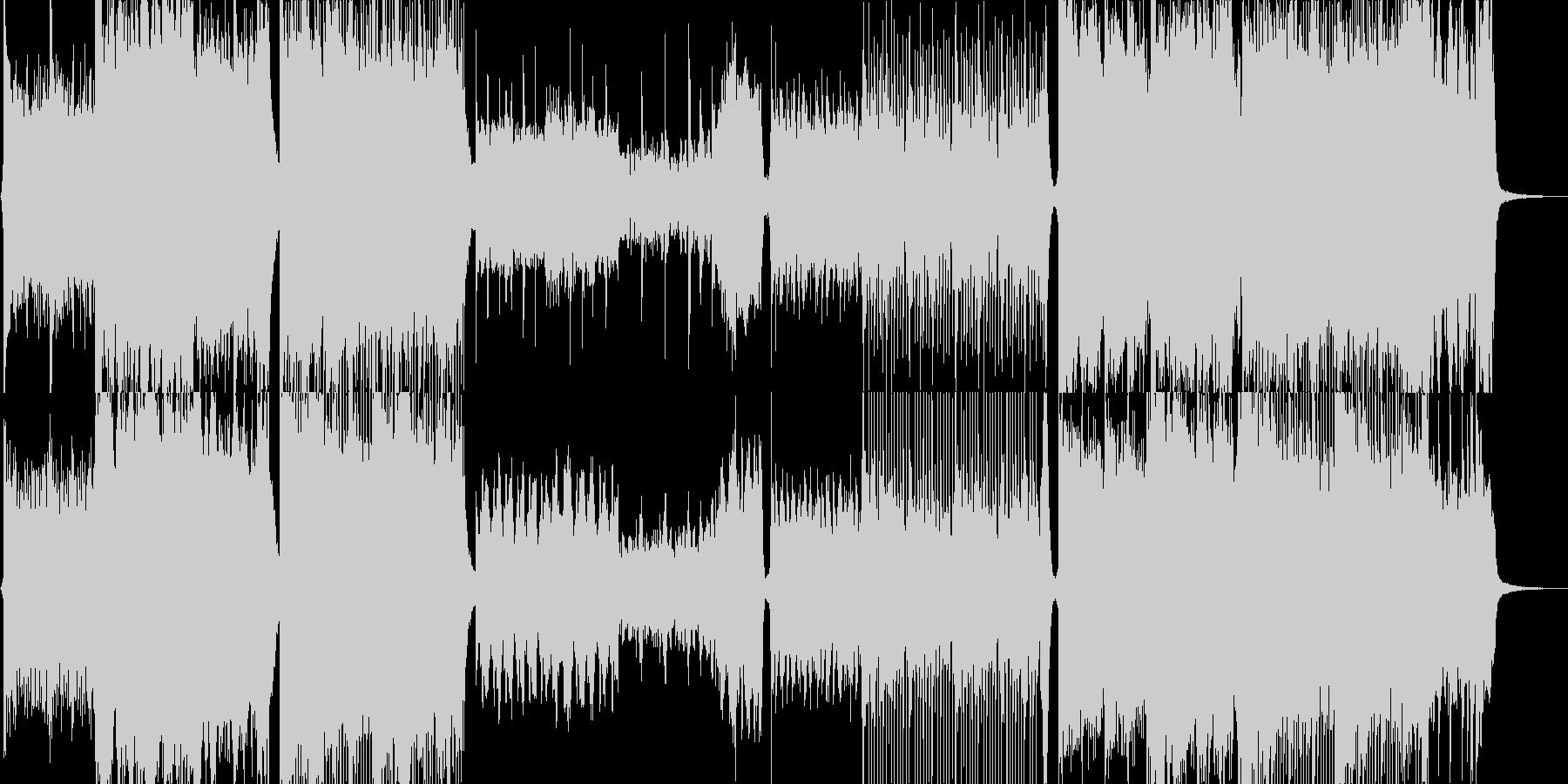 リマスター版の未再生の波形